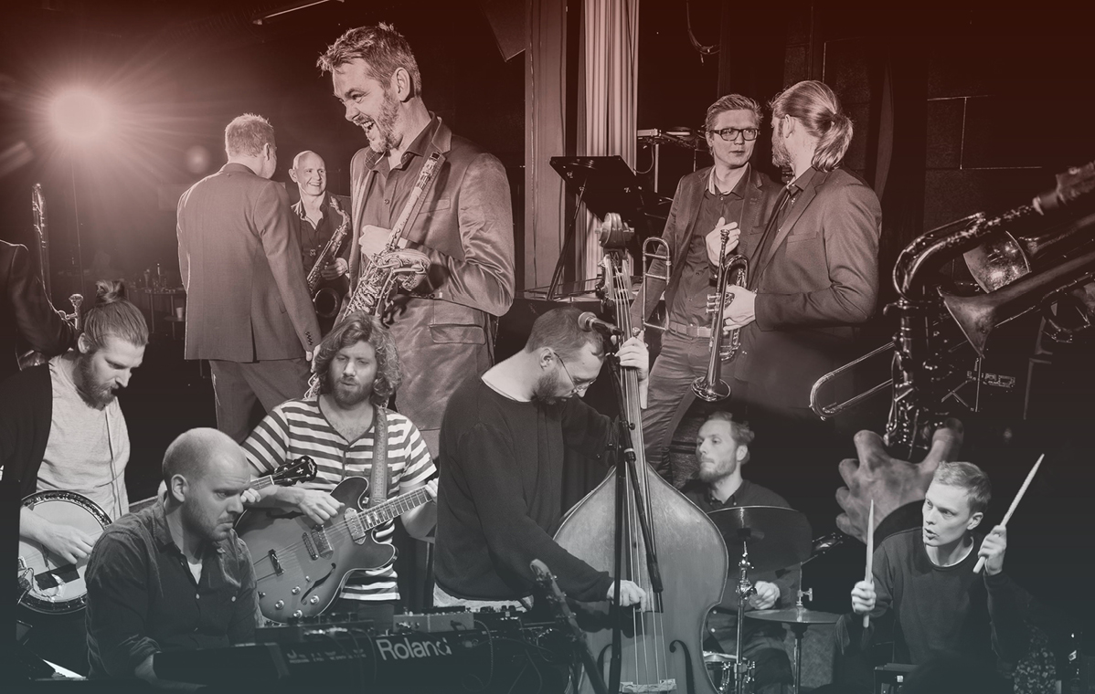 Aarhus Jazz Orchestra +  I Think You're Awesome